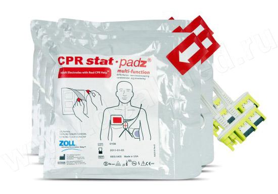 Электроды для автоматического наружного дефибриллятора CPR Stat-padz ZOLL США