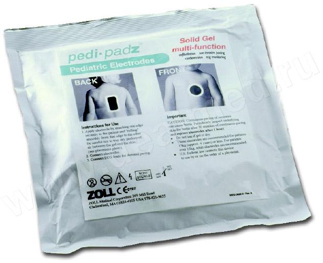 Многофункциональные детские электроды Pedi-padz ZOLL США