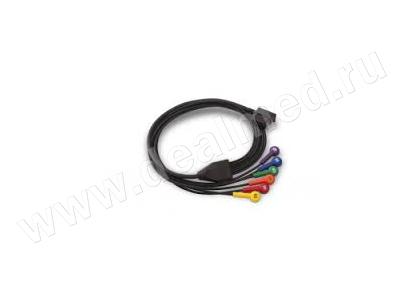 Съемная часть кабеля ЭКГ на 12 отведений (6-жильный) ZOLL, США