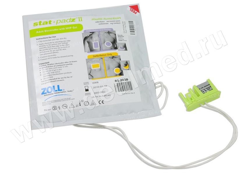 Мультифункциональные электроды Stat Padz II, 1 пара ZOLL, США